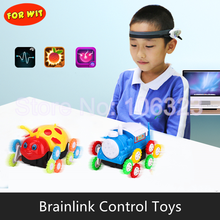 New High Tech Toys, Brainlink with Stunt Car, Mindlink Brain Wave Concentration Training APP Games,  Thought Control Detector