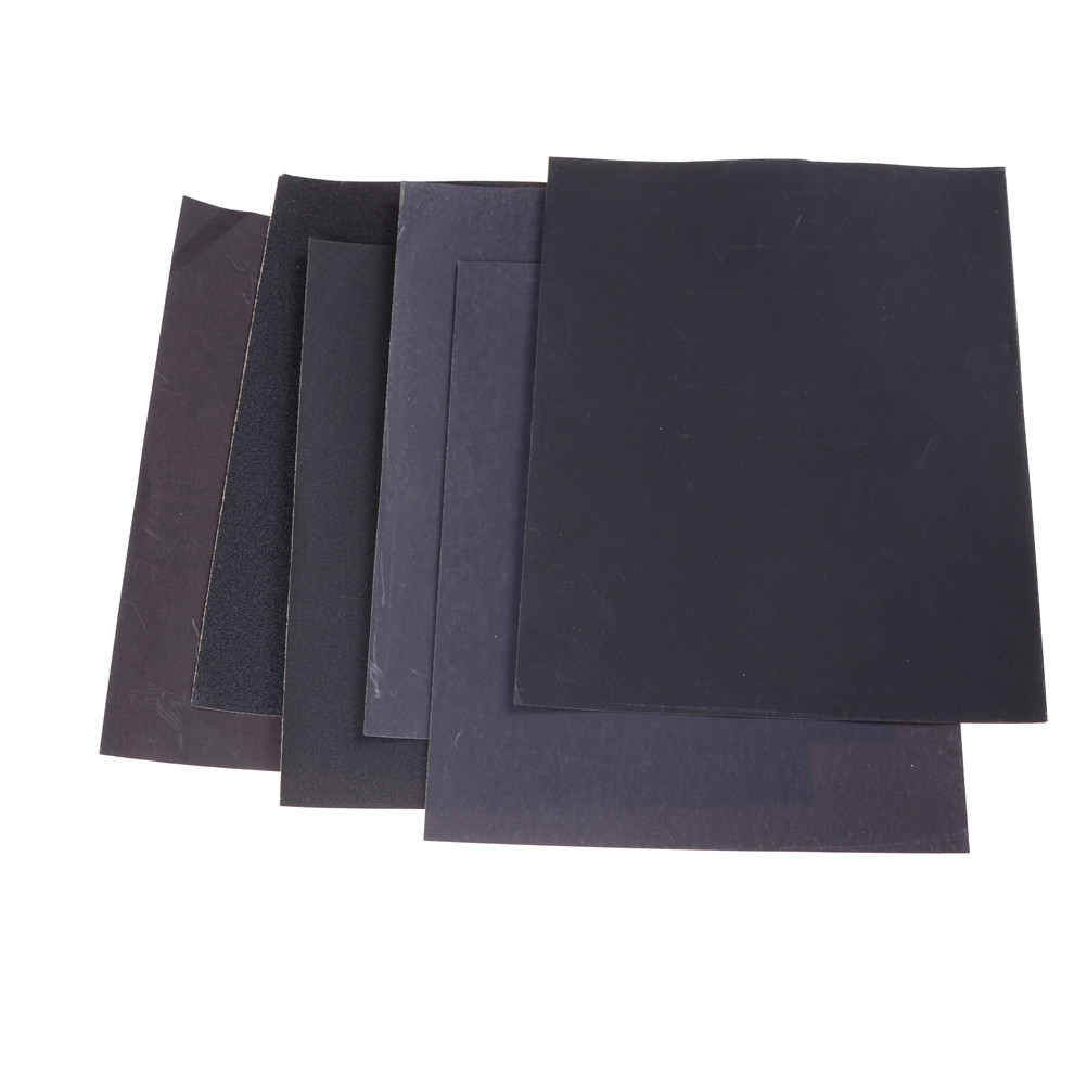 180#400#800#1000#1200#1500#2000# Waterproof Sanding Paper Wet Dry Polishing Sandpaper Grit Granularity Metal Wood Abrasive Tools