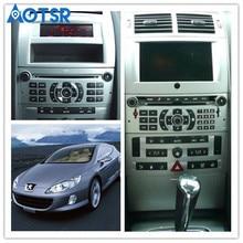 Android 9,0 автомобильный dvd-плеер gps навигация для peugeot 407 2004-2010 головное устройство мультимедийный плеер радио магнитофон авто стерео