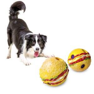 Image 5 - Grappig Geluid Honden Spelen Bal Wobble Wag Giggle Kauwen Bal Puppy Training Bal Met Grappige Geluid Gift Huisdier Speelgoed levert