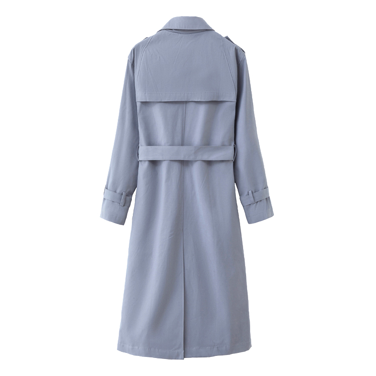 Hd122618da3544a0da717eefa170eaa69V Fashion Brand New Women Trench Coat Long Double-Breasted Belt Blue Khaki Lady Clothes Autumn Spring Outerwear Oversize Quality