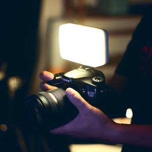 Image 3 - Vijim VL120 3200K 6500K LED Video DSLR kamera için ışık yumuşak ışık ile kutusu RGB renk filtresi soğuk ayakkabı cep dolgu ışığı