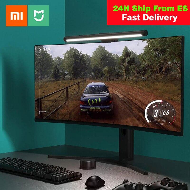 Xiaomi Mijia – moniteur lumineux pour écran d'ordinateur portable, barre lumineuse, lampe de bureau, Protection des yeux, lampe de lecture pour écran LCD PC, chargeur USB Type C