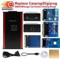Neue Design digiprog Programmierer V77 Unterstützung IMMO + Laufleistung Korrektur + Airbag Reset Pro Ersetzen Carprog/Digiprog/Tango