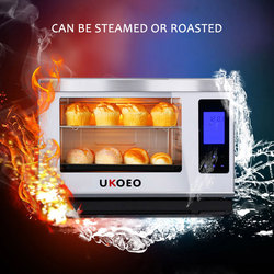 Intelligent Electric Steamer 40L Large Capacity Oven Household Electric Steamer Desktop Steaming Roast Furnace Oven HQ35