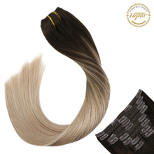 Ugeat Clip in Human Hair Extensions 14-22