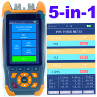 Optical PON Power Meter Fiber Cable Testing Instrument Pass or Fail Function 1310 1490 1550nm In Service GPON EPON Live Checking