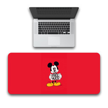Large Minnie Mickey mouse pad 80x30cm Keyboards Mat Rubber  Desk Mat for game player Desktop PC Computer Laptop