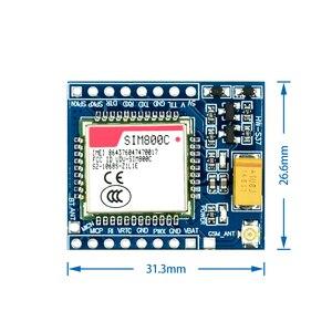 5 в 3,3 В SIM800C GSM GPRS электронная фотовспышка TTL макетная плата IPEX с Bluetooth TTS STM32 для Arduino C51