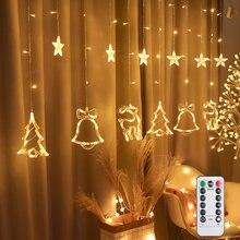 25 м штепсельная вилка eu/us led Рождественская елка олень с
