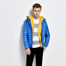 Mens Winter New Down Cotton Suit Leisure Cap and Velvet Coat Parkas Hooded