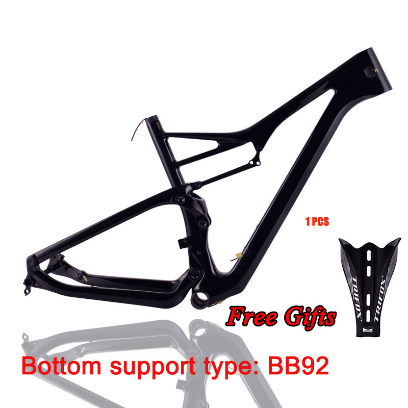 TRIFOX  Carbon Mtb Frame 29er Suspension MTB Frame 148 * 12mm Bicycle Frame Dropshipping