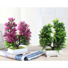 1 PC Garden Simulation Plant Miniature Bonsai Fake Wheat Ear Green Decoration For  Living Room Office Desktop Hot Sale