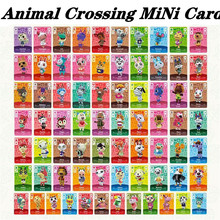 Hot Sale 72Pcs/Set Whitney Maple Animal Crossing Card Mini NFC New Horizon Tag Ntag215 Game Card For Switch/Switch Lite/Wii