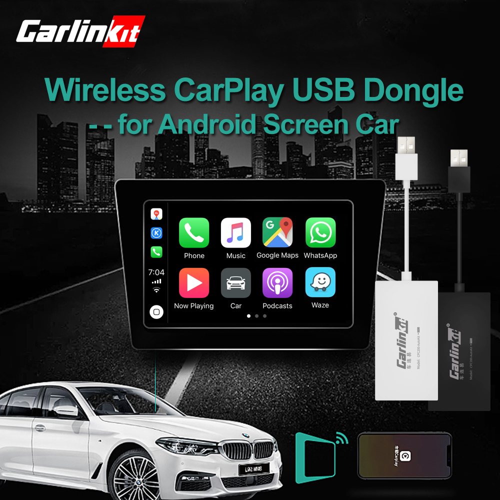 Wireless Apple CarPlay Dongle For Android Navigation Player