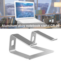 Aluminum Alloy Laptop Holder Stand Ergonomics Heighten Rack for Desktop Notebook LHB99
