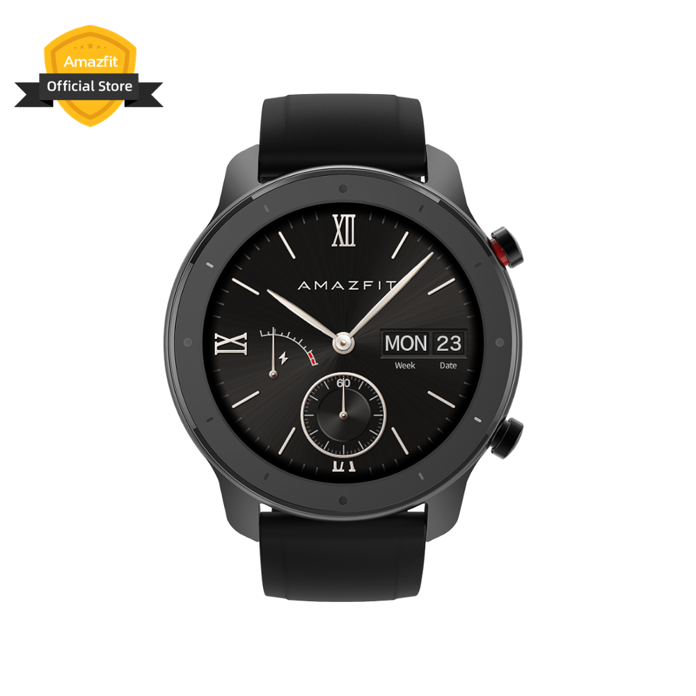Amazfit Smartwatch Ios-Phone 47mm-Lite Android for 24-Days-Battery Swimproof In-Stock