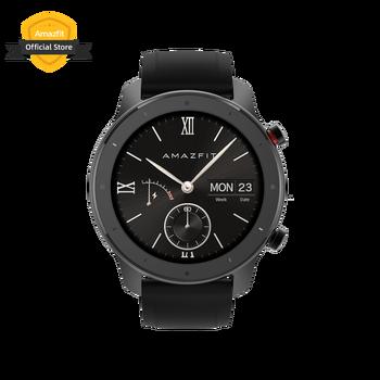 In Lager Amazfit GTR 47mm Lite Smart Uhr Swimproof Smartwatch 24 Tage Batterie für Android ios telefon