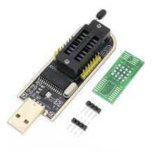 10pcs CH341A 24 25 ซีรีส์ EEPROM Flash BIOS โปรแกรมเมอร์ USB พร้อมซอฟต์แวร์และไดร์เวอร์