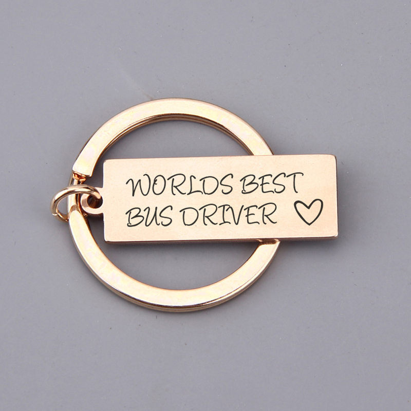 Personalised 4 Fingerprints Engraved Heart Key ring Perfect Fathers Day Gift