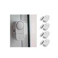 5 pcs Door Windows Alarm Sensor Wireless Home Security Alarm Systems Door Window Entry Burglar Alarm