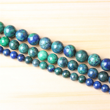 Phoenix Stone 4/6/8/10/12mm Natural Gem Stone Polished Smooth Round Beads For Jewelry Making DIY Bracelets