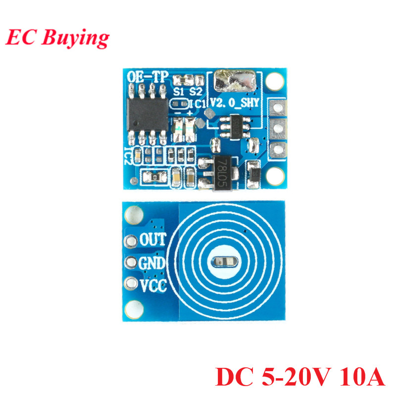 10PCS//LOT Capacitive Touch Switch Module Digital Touch Sensor LED Dimming 10A Drive