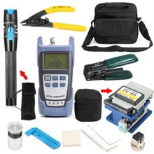 Locator Optical-Fiber-Tool-Kits Power-Meter Fiber Cleaver Ftth-Fiber Cold-Connection-Tool