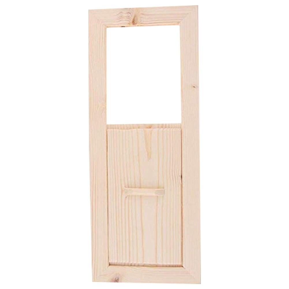 Sauna Air Vent Cedarwood Adjustable Accessories Sliding Summer Bath Grille Ventilation Home Steam Room Shutter Window Smooth