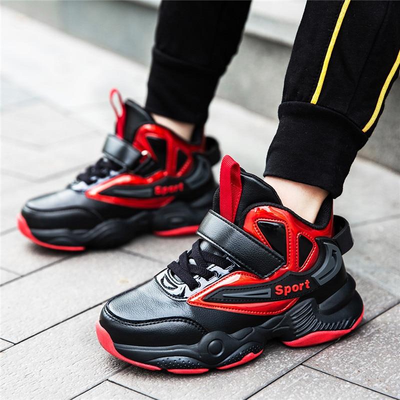 do menino sapatos de basquete leve tênis