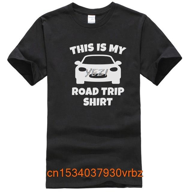 This Is My Road Trip Shirt Men T-Shirt Sports T Shirt