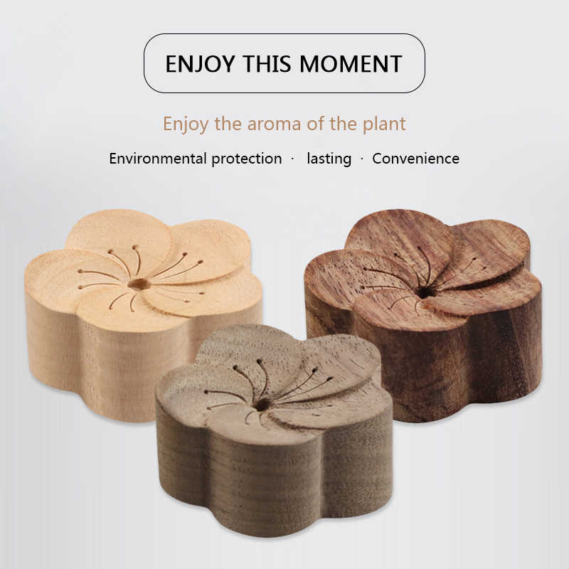 Essential Oil Aromatherapy Diffuser Wooden Aroma Diffuser Eco-Friendly Fragrance Diffused Wood Refreshing Health Sleep Aid