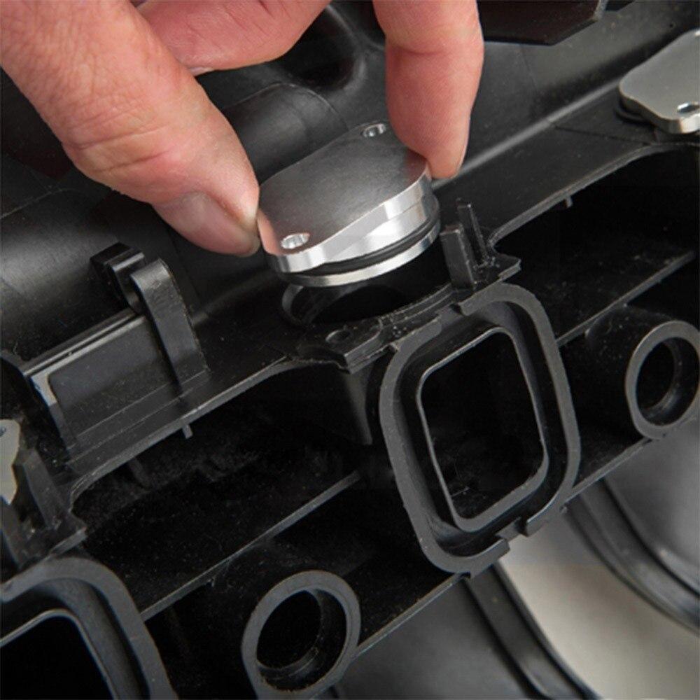 For BMW E60//E61 520d 525d 530d 535d 33mm Swirl Flap Bung/&Intake Manifold Gaskets