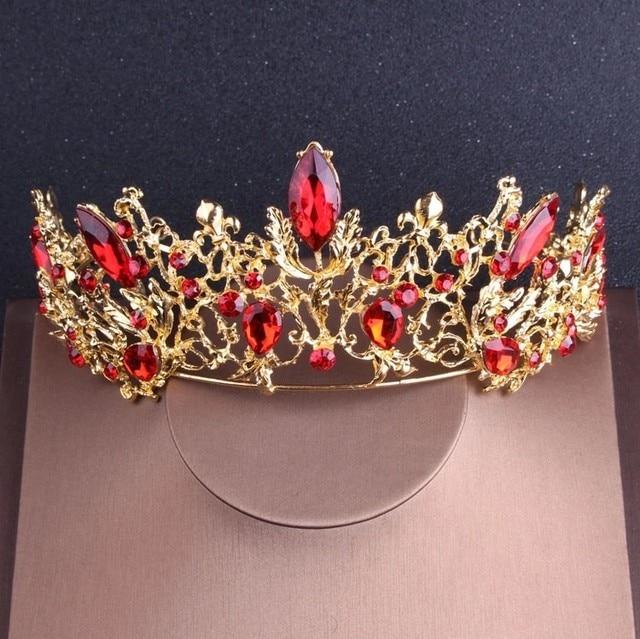 Baroque Vintage Gold Red...