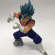 Anime Dragon Ball Z Super Saiyan Vegetto PVC Action Figure Collectible Model doll toy 18cm 2 styles dragon ball z super saiyan nappa goku raditz ultimate form anime combat edition pvc action figure collectible toys