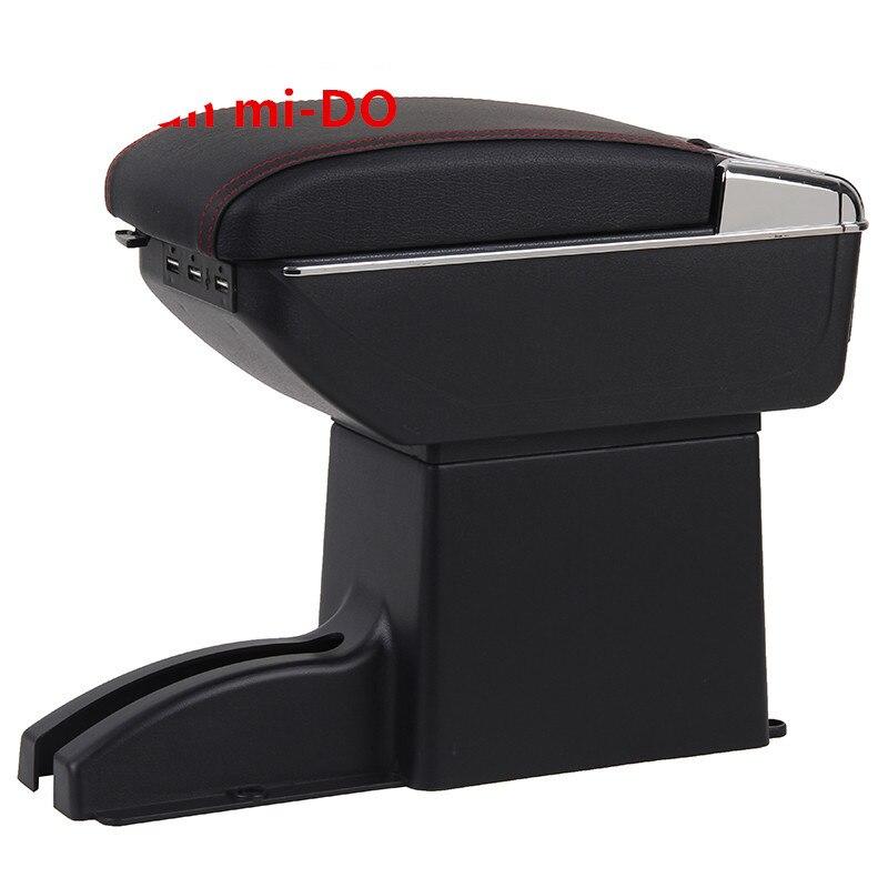 Для Datsun on DO подлокотник коробка Datsun mi DO Универсальный центральный автомобильный подлокотник для хранения коробка Подстаканник Пепельница аксессуары для модификации Подлокотники      АлиЭкспресс