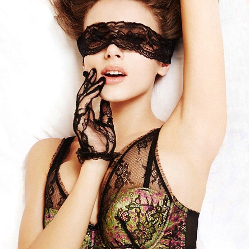 Fanala Сексуальное белье SM Сексуальная кружевная полая выскоченная Сексуальная повязка на глаза маска для взрослых Сексуальная помощь
