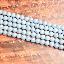 Natural Aquamarine Natural Stone Beads Loose Stone Beads For Jewelry Making DIY Bracelets Necklace Accessories 4/ 6/8/10mm