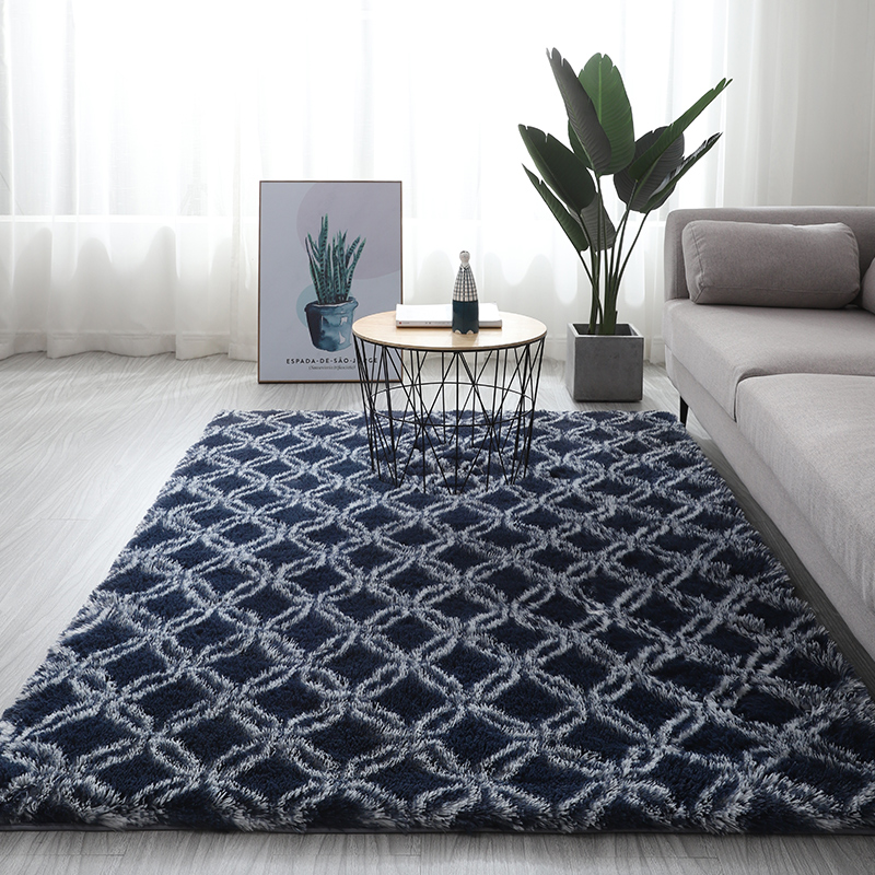 Alfombra de felpa para sala de estar, alfombra gruesa para el dormitorio, tatami, alfombra para el suelo del hogar, novedad de verano, alfombra gruesa para balcón, mesa de centro, alfombra