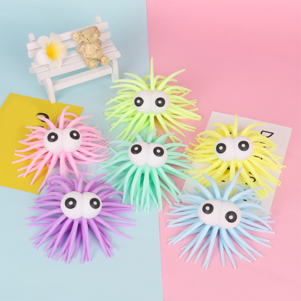 TPR Soft Noodle Stretch String Sensory Squeeze Release Stress Toy Finger Anti-stress Toys Stress Relief Fun Children Toys