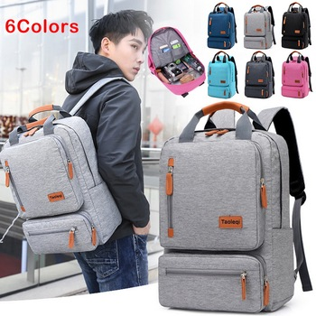 Litthing Men's Backpack Casual Business Notebook Backpack Light 15.6-inch Laptop Backpack Anti Theft Backpack Travel Rucksack