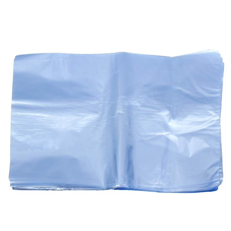 LBER 100Pcs PVC Heat Shrink Wrap Bags Flat Seal Gift Packing 8 Inch X 12 Inch