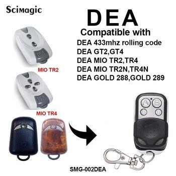 DEA MIO TR2 MIO TR4 MIO TR2N MIO TR4N gate control garage door remote control replacement DEA remote garage rolling code фото