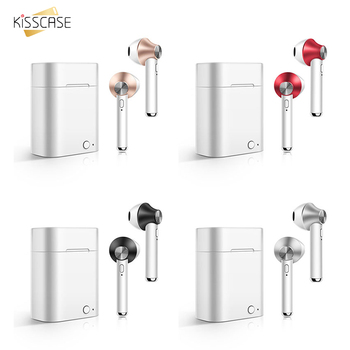 KISSCASE D012 Bluetooth earphone TWS 3D surround Stereo fone de ouvido auriculares inalambricos for iOS Android phone