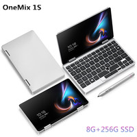 One Netbook One Mix 1S Notebook 7 inch Yoga Pocket Laptop Core 3965Y 8GB 256GB Silver Windows10 gaming laptops Notebook