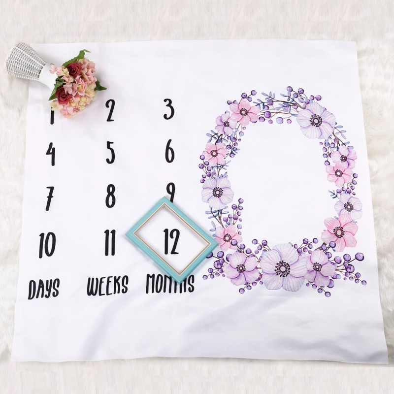 Baby Swaddle Wrap Newborn Fashion Bathing Towels Cute Soft Blanket DIY Infant Kids Photography Props Personalized Baby Blankets