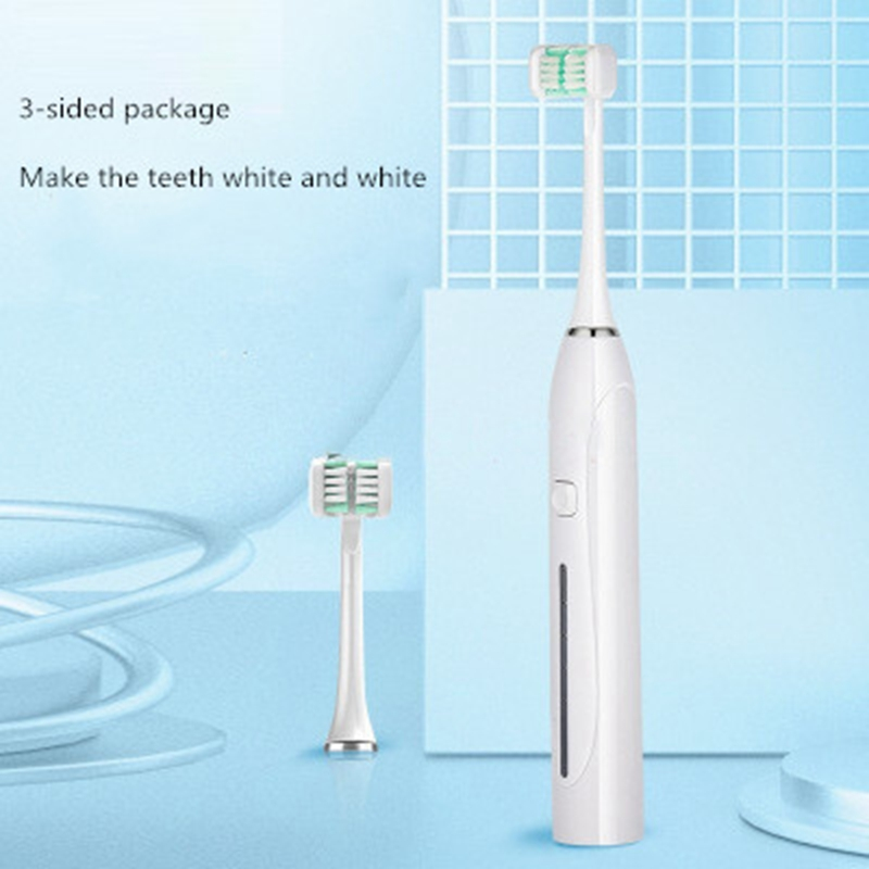 Rechargeable Adult Children Electric Toothbrush Ultrasonic Toothbrush Children U-Shaped Toothbrush