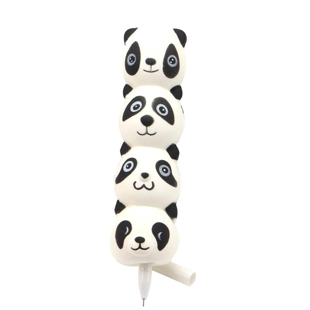 Creative Decompression Toy Ice Cream Pen Super Soft Pu Slow Rebound Pen Set Novel Unpacking Foam Toy