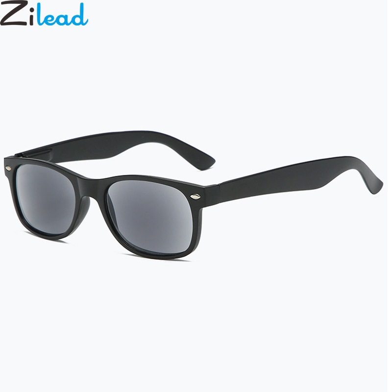 Zilead Sun Reading Glasses Men&Women Presbyopia Eyeglases Sunglasses Hyperopia Eyewear With Case Unisex
