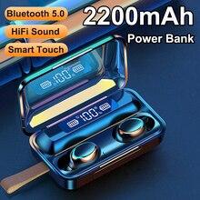 F9 5 TWS беспроводные наушники Bluetooth мини наушники вкладыши Спортивная гарнитура с сенсорным управлением наушники с микрофоном З туз наушники
